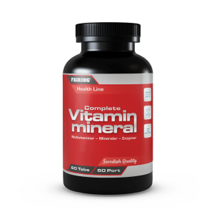 Complete vitamin & mineral, 60 tabs