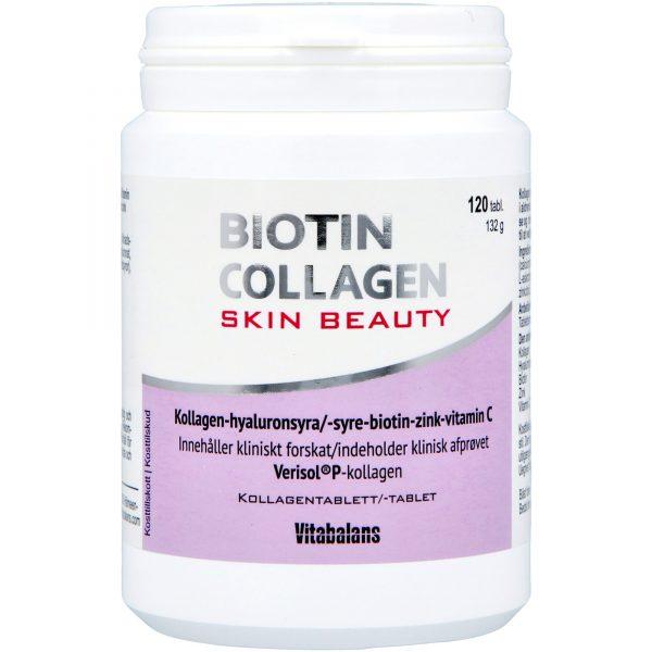 Biotin Strong & Biotin Collagen Collagen Skin Beauty 120 st