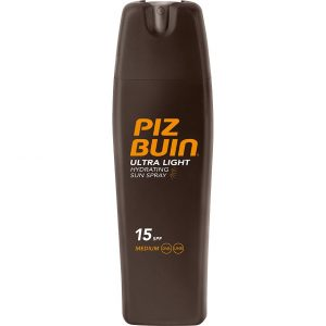 Piz Buin Ultra Light Hydrating Spray SPF 15, 200 ml Piz Buin Aurinkovoiteet