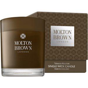 Tobacco Absolute Single Wick Candle, 180 g Molton Brown Tuoksukynttilät