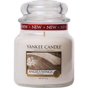 Angel's Wings, 411 g Yankee Candle Tuoksukynttilät