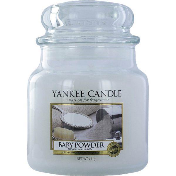 Baby Powder, 411 g Yankee Candle Tuoksukynttilät