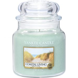 Coastal Living Small Jar, 411 g Yankee Candle Tuoksukynttilät