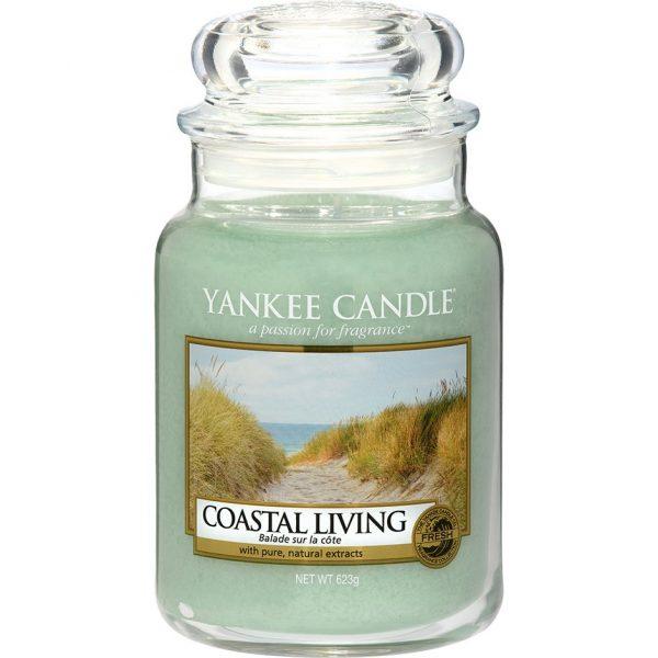 Coastal Living Small Jar, 623 g Yankee Candle Tuoksukynttilät