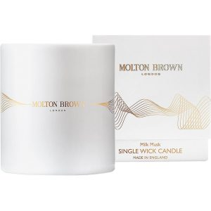 Milk Musk Single Wick Candle, 180 g Molton Brown Tuoksukynttilät