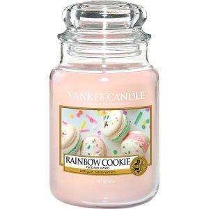 Rainbow Cookie, 623 g Yankee Candle Tuoksukynttilät