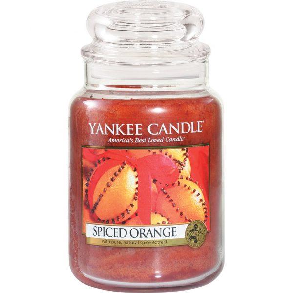 Spiced Orange Small Jar, 623 g Yankee Candle Tuoksukynttilät