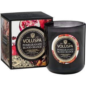 Voluspa Classic Maison Candle Pomegranate Blood Orange, 340 g Voluspa Tuoksukynttilät