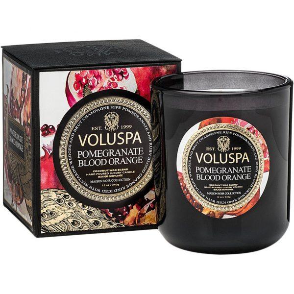 Voluspa Classic Maison Candle Pomegranate Blood Orange, 340 g Voluspa Tuoksukynttilät