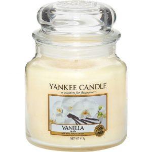 Vanilla, 411 g Yankee Candle Tuoksukynttilät
