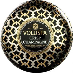 Voluspa Coconut Wax Blend Perfumed Candle, Crisp Champagne, 312 g Voluspa Tuoksukynttilät