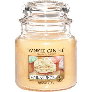 Vanilla Cupcake, 411 g Yankee Candle Tuoksukynttilät