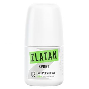 Zlatan Sport FWD, 50 ml Zlatan Ibrahimovic Parfums Roll-on-deodorantit
