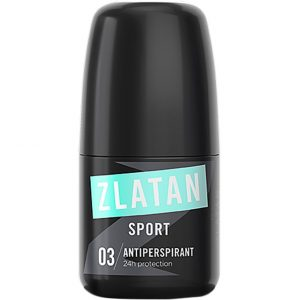 Zlatan Sport Antiperspirant Roll-On, 50 ml Zlatan Ibrahimovic Parfums Miesten deodorantit