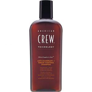 American Crew Anti-Dandruff + Sebum Control Shampoo, 250 ml American Crew Shampoo