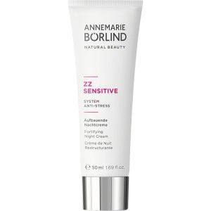 ZZ Sensitive Fortifying Night Cream, 50 ml Annemarie Börlind Kosteusvoiteet kasvoille
