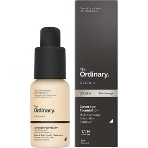 The Ordinary Coverage Foundation, The Ordinary Meikkivoide