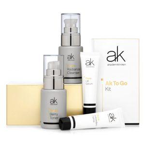 AK-TO-GO Trial Kit, 130 ml Akademikliniken Skincare Ihonhoitopakkaukset