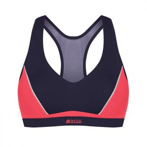Active Sports Padded Bra, Coral Bloom