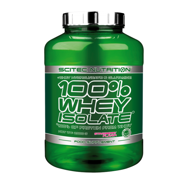 100 % Whey Isolate, 2000 g