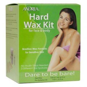 Brazilian Hard Wax Kit for Face & Body, Andrea Karvanpoisto