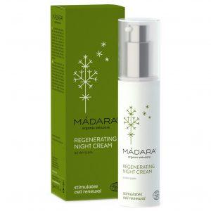 Madara Organic Skincare Regenerating Night Cream, 50 ml MÁDARA ecocosmetics Luonnonkosmetiikka