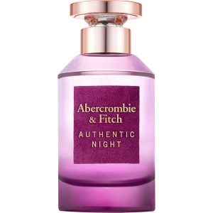 Authentic Night Women, 100 ml Abercrombie & Fitch EdT