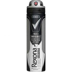 Men Deo Spray Invisible Black & White, 150 ml Rexona Roll-on-deodorantit