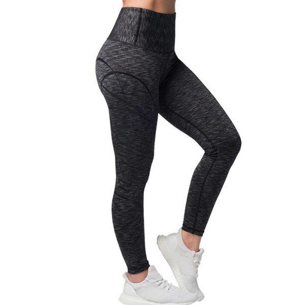 Cushy Soft Legging, Black/Grey