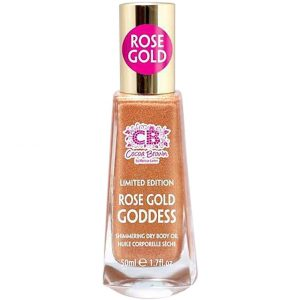Cocoa Brown Shimmering Dry Body Oil Rose Gold Goddess, 50 ml Cocoa Brown Heleytys