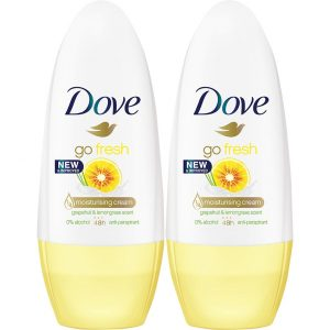 Go Fresh Grapefruit Duo, Dove Roll-on-deodorantit