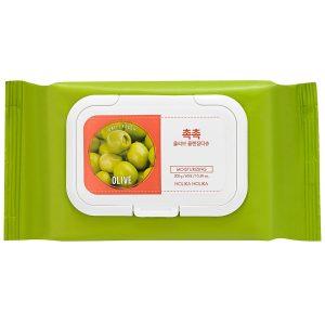 Daily Fresh Olive Cleansing Tissue, Holika Holika K-Beauty