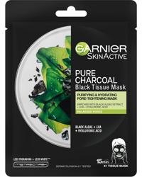 Charcoal Tissue Mask Black Algae 1 PCS