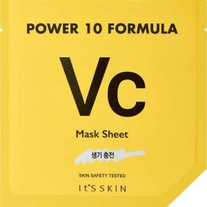 Power 10 Formula Sheet Mask VC, It'S SKIN K-Beauty