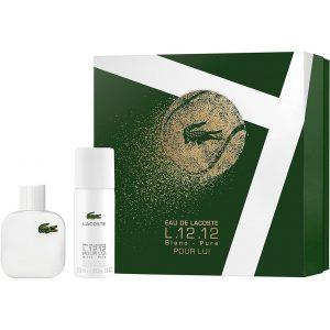 L.12.12 Blanc Gift Set, Lacoste Miesten tuoksupakkaukset