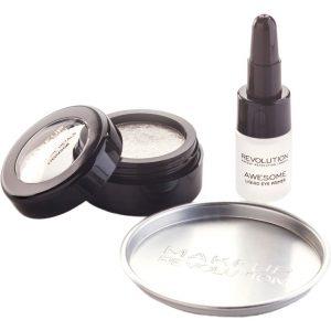 Awesome Metals Eye Foils, Makeup Revolution Luomiväri