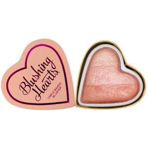 I Heart Makeup Blushing Hearts, Makeup Revolution Poskipuna
