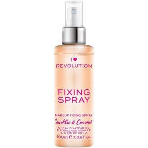 I Heart Fixing Spray, Makeup Revolution Kiinnityssuihke