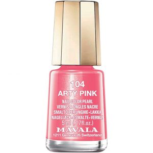 Mavala Nail Color Pearl, 104 Arty Pink, 5 ml Mavala Värilakat