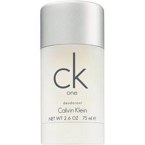 Calvin Klein CK One Deodorant Stick, 75 ml Calvin Klein Stikit & Voiteet