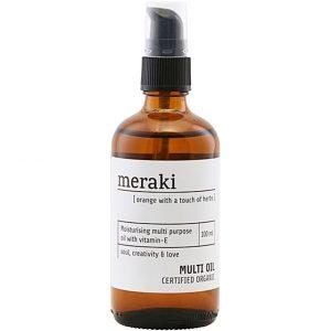 Orange & Herbs Multi Oil, 100 ml Meraki Vartalon kosteutus