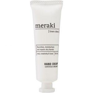 Linen Dew Hand Cream, 50 ml Meraki Kädet & Jalat