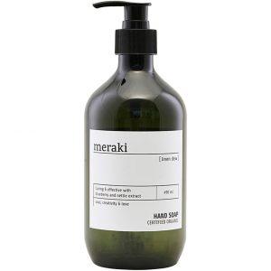 Linen Dew Hand Soap, 490 ml Meraki Kädet & Jalat