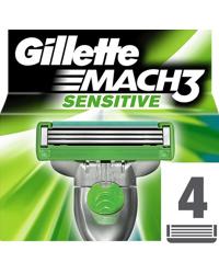 Gillette Mach3 Sensitive 4-Pack