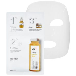 3-Step Nutrition Mask, MISSHA Vaihe 7: Kangasnaamio