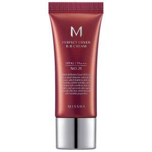 M Perfect Cover BB Cream SPF42/PA+++ Mini, 20 ml MISSHA K-Beauty