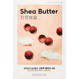 Airy Fit Sheet Mask (Shea Butter), 19 g MISSHA Vaihe 7: Kangasnaamio