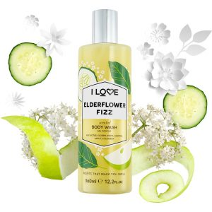 Elderflower Fizz, 360 ml I love… Kylpy & Suihku