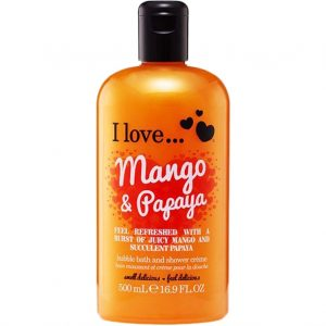 I Love... Mango & Papaya Bath & Shower Crème, 500 ml I love… Kylpyvaahdot