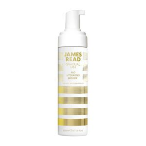 H20 Hydrating Mousse, 200 ml James Read Itseruskettavat